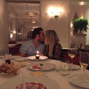 Bárbara Evans janta com o novo namorado, Fabrício Assunção: 'É tudo que pedi'