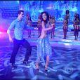 Carol Nakamura dançou com Sidney Sampaio na 'Dança dos Famosos', em 2007