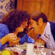 O casal Sinhozinho Malta e viúva Porcina foi o destaque da novela do horário nobre 'Roque Santeiro', em 1985