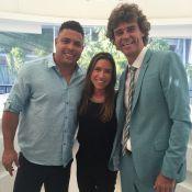 Patricia Abravanel tieta Ronaldo e Gustavo Kuerten em Roland Garros: 'Heróis'