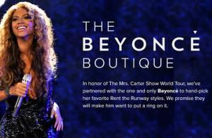 Beyoncé lança boutique online: as roupas podem ser compradas ou alugadas