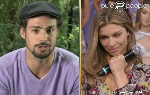 Vídeo de Cauã Reymond fazendo declaração para Grazi Massafera foi gravado antes da crise no casamento, em 12 de junho de 2013