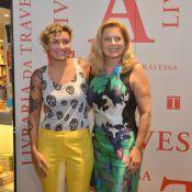 Vera Fischer vai curtir a Disney com os filhos, Rafaela e Gabriel