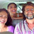 Diretor da série 'Dois Irmãos', da Globo, participou de gravações também com as atrizes Juliana Paes e Eliane Giardini