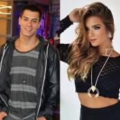 Namorada de Arthur Aguiar, Camila Mayrink faz teste para nova fase de 'Malhação'