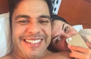 Zezé Di Camargo volta ao Instagram em conta conjunta com Graciele Lacerda: 'Amo'
