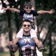 Cristiano Araújo deixa dois filhos, entre eles, o pequeno João Gabriel, de 6 anos