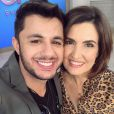 Cristiano Araújo fez participação no programa 'Encontro com Fátima Bernardes'