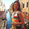 Luciana Gimenez curte viagem à Itália em família e posta foto em Veneza na sua conta do Instagram
