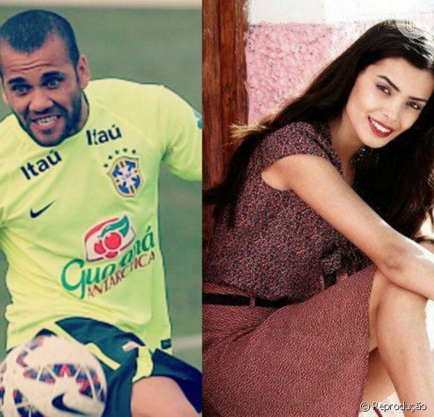 Daniel Alves, craque da Seleção Brasileira, assume namoro com a modelo Joana Sanz