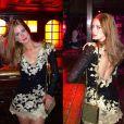 Para curtir uma noite em Paris, Marina usou vestido Lethicia Bronstein que não sai por menos de R$ 10.900
