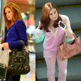 No dia a dia, a artista adora usar suas bolsas da Balenciaga, de R$ 6.000