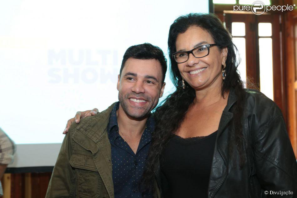 Solange Couto participou da coletiva de imprensa do programa 'Os Suburbanos', do Multishow, nesta quarta, dia 25 de junho de 2015. O humorístico será estrelado por Rodrigo Sant'Anna