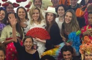 Marina Ruy Barbosa se diverte com elenco de 'Totalmente demais': 'Atormentados'
