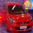 Além do troféu, os vencedores Priscila Fantin e Rodrigo Simas ganharam um carro Nissan March, à venda por R$ 36.990,00