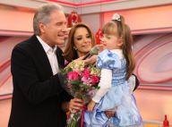 Ticiane Pinheiro chora com mensagem de Roberto Justus: 'Melhor mulher que tive'