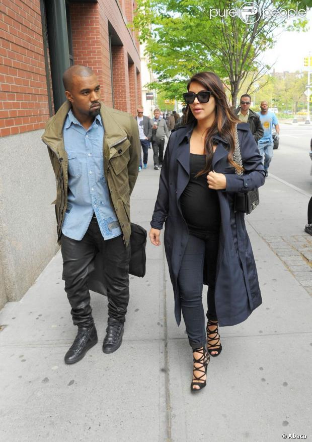 Kim Kardashian e Kanye West decidem o nome da filha: North West, em 21 de junho de 2013