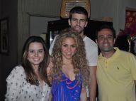 Shakira e Gerard Piqué festejam vitória da seleção espanhola em Fortaleza