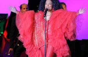 Diana Ross reúne famosos em show de abertura da turnê brasileira, em São Paulo