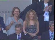 Shakira vai ao estádio e comemora vitória da Espanha na Copa das Confederações
