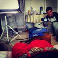 Micael divulgou em seu Instagram outra cena das filmagens