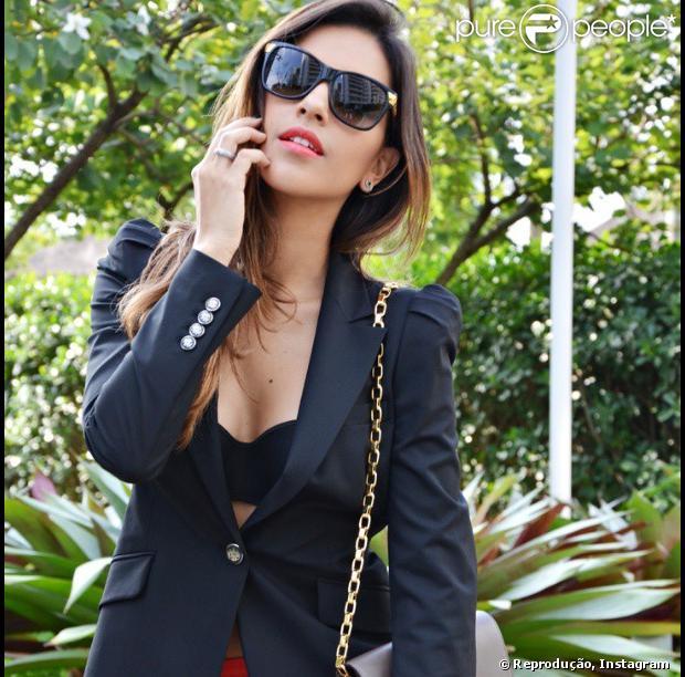 Mariana Rios publica texto do jornalista Caio Fernando Abreu no Instagram, em 3 de julho de 2013