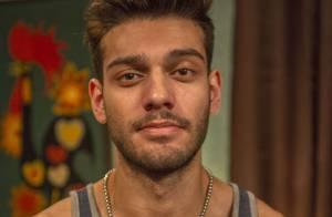 Lucas Lucco sobre beijo técnico em 'Malhação': 'De língua é mais legal'