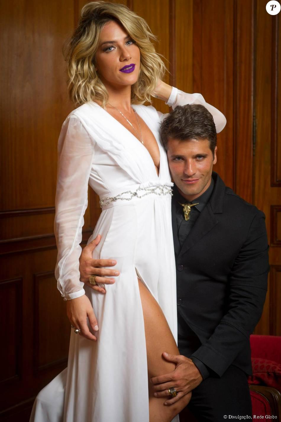 Giovanna Ewbank foi convidada para fazer uma participação especial na reta final de 'Babilônia'. A atriz vai contracenar com o marido, o ator Bruno Gagliasso