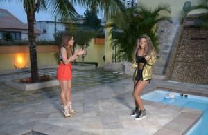 Sabrina Sato conhece nova mansão de Ludmilla e ganha massagem de sarado na praia