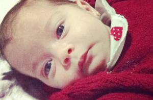 Debby Lagranha comemora um mês de vida da filha, Maria Eduarda: 'Uma princesa'