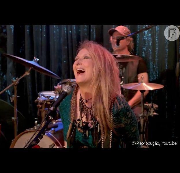 Meryl Streep canta a música 'Bad Romance', de Lady Gaga, no filme 'Ricki and the Flash – De Volta pra Casa'