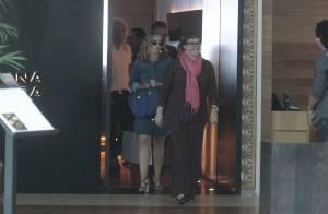 Angélica volta a usar bolsa de R$ 50 mil da grife francesa Hermès, no Rio