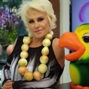 Ana Maria Braga usa colar feito de cebolas para criticar preço do alimento