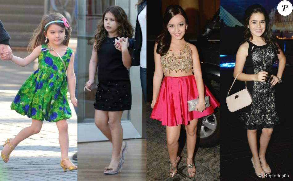 3474e3b3e0ff1 Suri Cruise, Isabella, filha de Ana Furtado, Larissa Manoela, alto alto  também