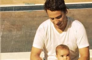 Vanessa Giácomo posta foto da filha caçula com o marido: 'Grande amor'