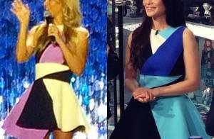 Carolina Dieckmann repete vestido de R$ 9 mil usado por Lucy Liu