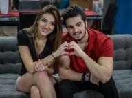 Luan Santana grava comercial de TV ao lado da irmã, Bruna Santana: 'Especial'