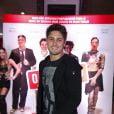 Daniel Rocha marca presença na pré-estreia de 'O Concurso'