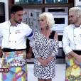 Ana Maria Braga contou a Julio Rocha e Fiuk que os eliminados do 'Super Chef' terão segunda chance em uma repescagem: 'Um vai voltar'