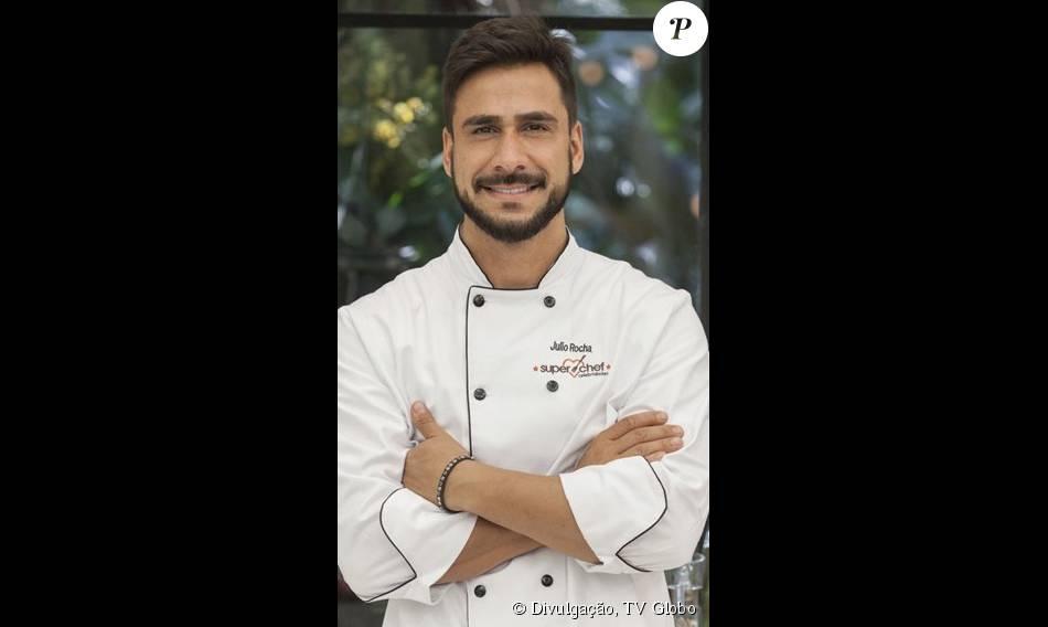 Julio Rocha foi o primeiro eliminado do 'Super Chef Celebridades' ao receber 38% dos votos para ficar na competição do 'Mais Você', nesta quinta-feira, 13 de agosto de 2015