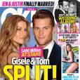 Revista 'OK Magazine' afirmou que casamento de Gisele 'estaria desmoronando', enquanto casal mantinha sorrisos para as fotos