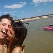 Fábio Porchat aparece ao lado de nova namorada, produtora do 'Porta dos Fundos'