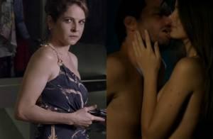'Verdades Secretas': Giovanna arma para Carolina flagrar Alex e Angel transando