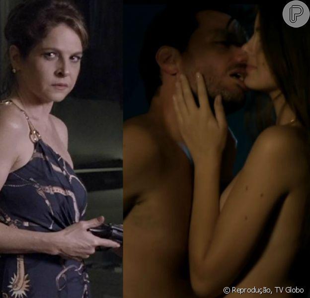O caso de Alex (Rodrigo Lombardi) e Angel (Camila Queiroz) está prestes a ser descoberto por Carolina (Drica Moraes) no que depender de Giovanna (Agatha Moreira), como informou o colunista de TV Daniel Castro nesta sexta-feira, 14 de agosto de 2015