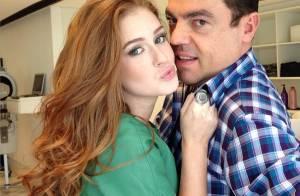 Marina Ruy Barbosa não fica careca e Marco Antonio de Biaggi comemora: 'Adorei'