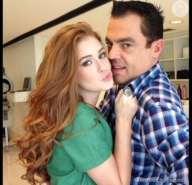 Marina Ruy Barbosa não vai mais raspar os cabelos em 'Amor à Vida' e Marco Antonio de Biaggi comemora no Facebook: 'Adorei'. A postagem foi feita em 11 de julho de 2013