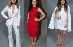 164d181aa Carol Castro, Camila Pitanga e elenco brilham em festa de 'Velho Chico'.  Looks! - Purepeople