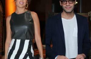 Giselle Itié e Guilherme Winter são vistos em clima de romance em restaurante
