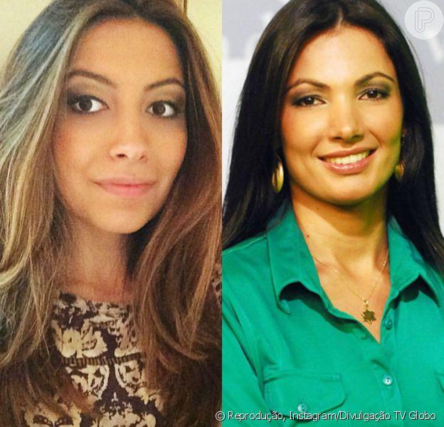 Paloma Poeta é repórter de telejornais da TV Record no Rio Grande do Sul e irmã de Patricia Poeta, apresentadora do 'É de Casa'