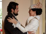 Novela 'Além do Tempo': Felipe promete a Melissa que vai se apaixonar por ela